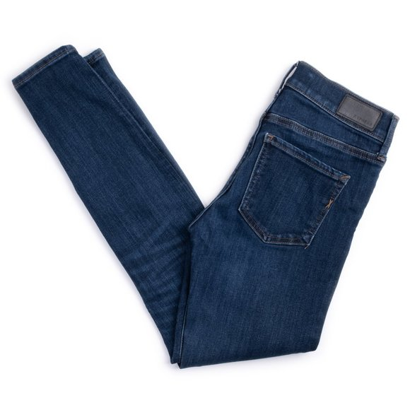 Express Legging mid-rise stretch blue jeans
